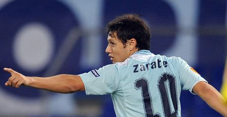 Zarate: On his way to Inter to add his striking talents to their squad
