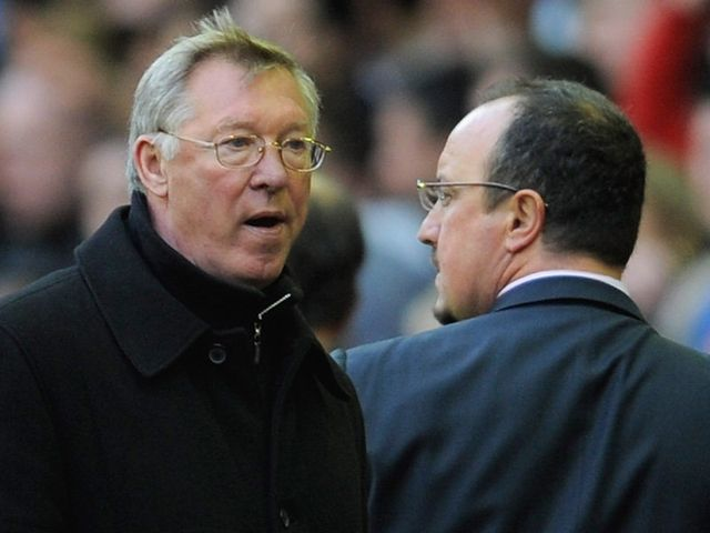 It could be Ferguson v Benitez in the FA Cup quarter-finals.