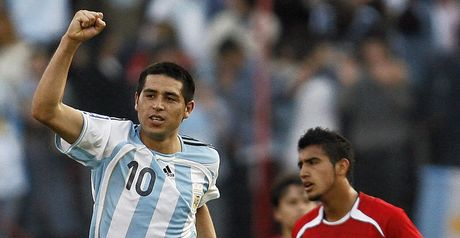 Riquelme: Wants to make his mark