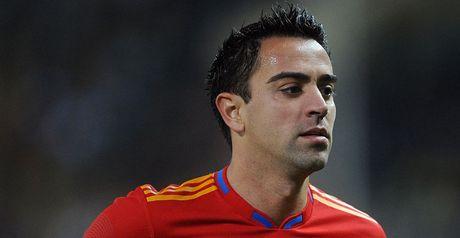 Xavi: Injury talk