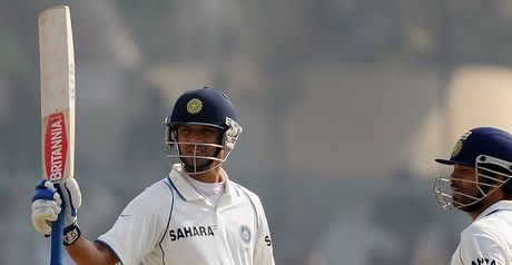 Dravid: 28th Test century
