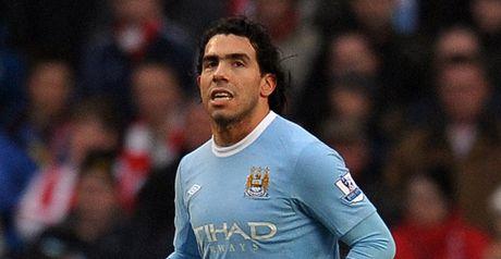 Tevez: Spot on for City