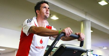 Pietersen: Forced indoors due to the poor weather in South Africa