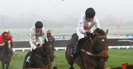 Spirit River goes clear at the last hurdle.