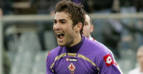 Mutu: Happy at Fiorentina