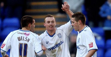 Curran: Struck for Tranmere