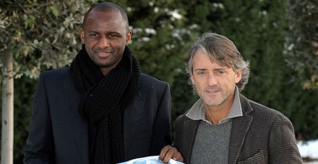 Mancini: Keen for Vieira to stay with City in some capacity next season