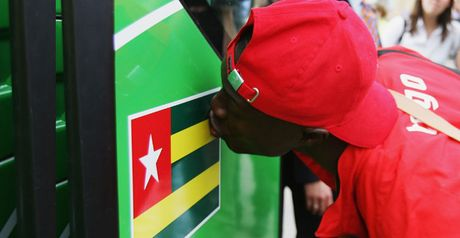 Togo: Out of the tournament