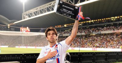 Juninho: Was a firm favourite with the fans during his time at Stade Gerland