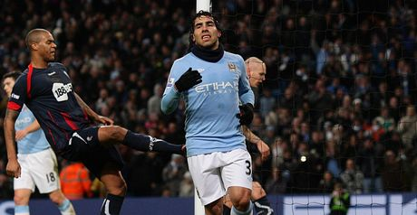 Tevez: Spot on with penalty goal