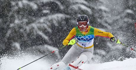 Riesch: carved up rivals