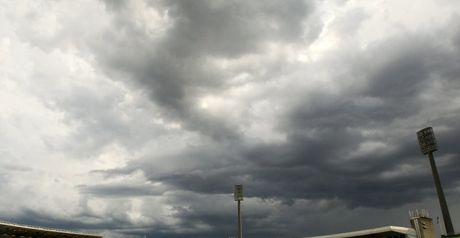 Frustration: rain cut short West Indies' run chase