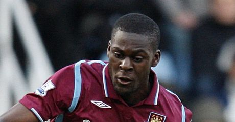 Nouble: On loan from West Ham