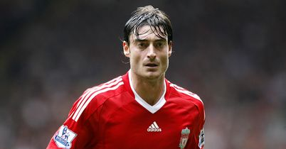 Riera: Signs an initial four-year contract with Turkish outfit Galatasaray