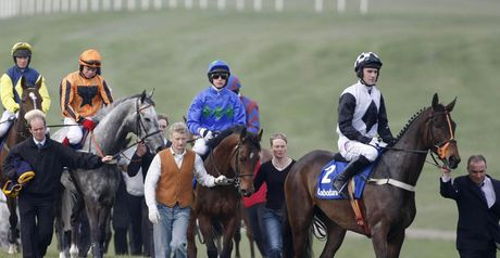 Dunguib (right): Returns at Leopardstown