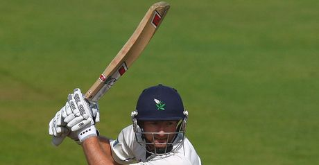 Lyth: fell just short of second ton