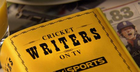 Cricket Writers on TV: 9am, Sun, Sky Sports 1 HD