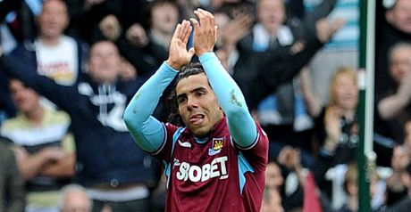Carlos Tevez: Spent one season at West Ham and helped keep them in the Premier League
