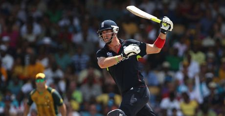 Pietersen: ruthlessly executes the one-armed on-drive