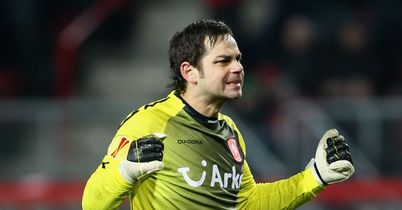 Sander Boschker: Hoping to play on with Twente for another year