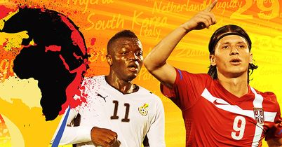 Ghana & Serbia: Ready for kick-off