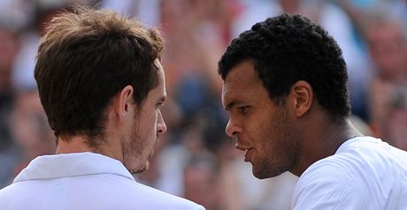 Andy Murray and Jo-Wilfried Tsonga meet in the semi-finals
