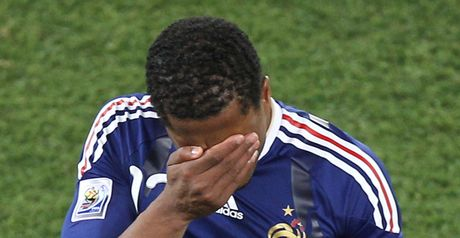 Evra: Infuriated by informant