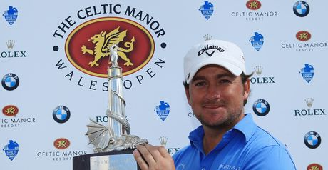 Graeme McDowell: won the Euro Tour event at Celtic Manor shortly before he was a Ryder Cup hero there.