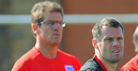 Carragher: Feels England are cheating by employing a foreign manager