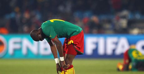 Mbia: Cameroon disappointment