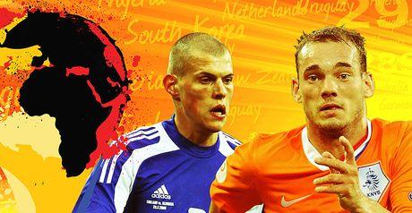Holland face Slovakia in the last 16