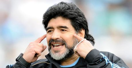 Hot tips: Diego Maradona's Argentina