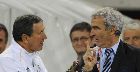 Domenech: Refused to shake hands