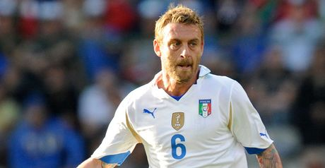 De Rossi: Wants improvement