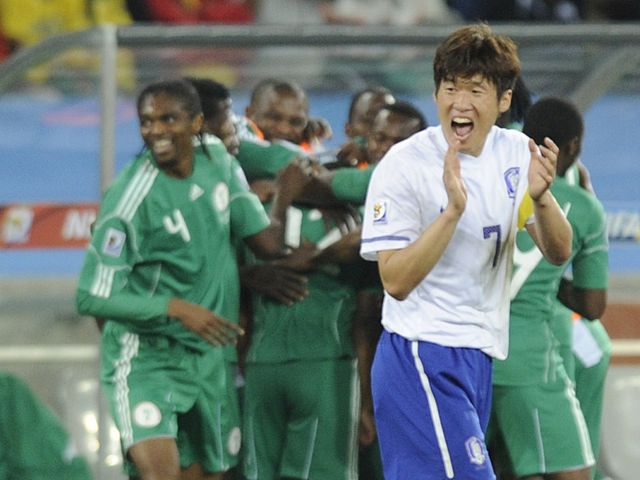 Park Ji-Sung - delighted with South Korea progress.