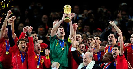 Spain sit at the summit