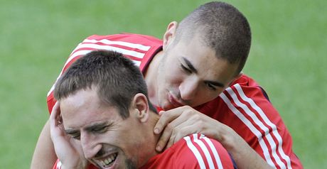 Ribery and Benzema: Charged