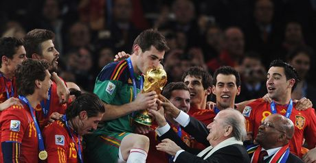 Casillas: Victorious Spain skipper