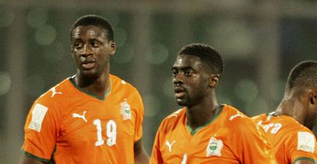 Toure brothers on international duty
