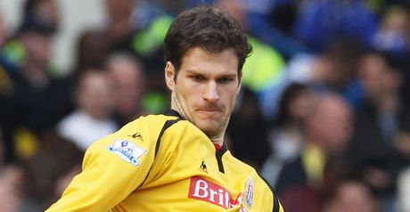 Begovic: Taken in by transfer talk