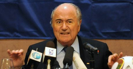 Blatter: Criticises English response