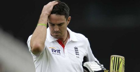 Pietersen: Managed scores of nine and 22 at Trent Bridge