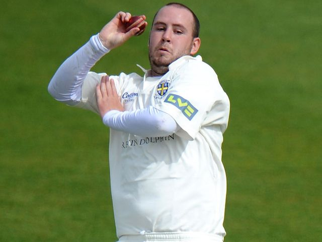 Chris Rushworth: Five wickets for Durham