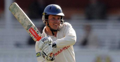 Rees: batted throughout Glamorgan innings for 110 not out