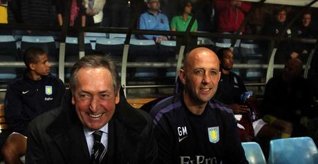 Houllier and Gary McAllister: Sample their first Midlands derby in new jobs