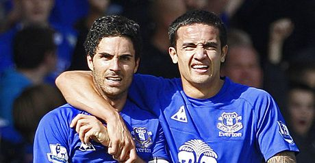 Everton heroes Arteta and Cahill