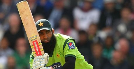 Overlooked: Yousuf failed to make Pakistan's World Cup squad