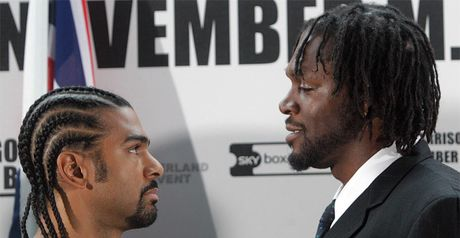 Haye: facing an 'old friend'