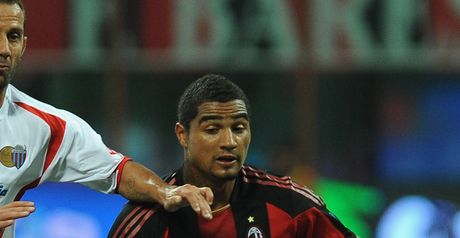 Boateng: Happy at Milan