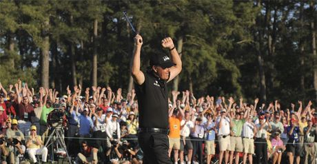 Mickelson: defends his title in 3D!